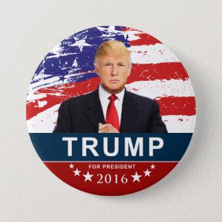 Donald Trump für Präsidenten 2016 3 Zoll rundes Runder Button 7,6 Cm