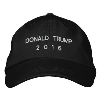 Donald Trump für Präsidenten 2016 Bestickte Baseballkappe