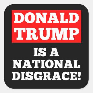 Donald Trump ist ein nationaler Quadratischer Aufkleber