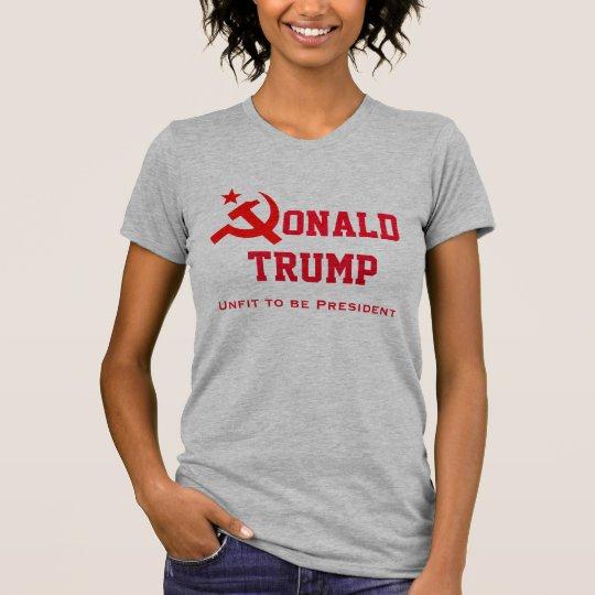 """""""Donald Trump"""" mit Hammer und Sichel T-Shirt"""