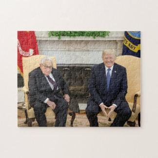 Donald Trump mit Henry Kissinger