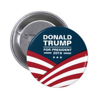 Donald Trump pour le président 2016 Badge Rond 5 Cm