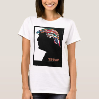 Donald Trump psychedelisches Combover T-Shirt