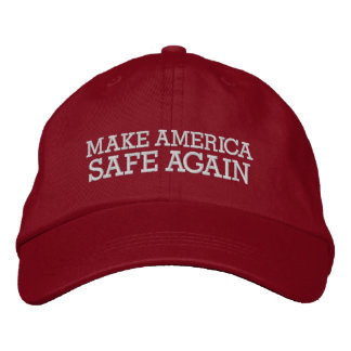 Donald Trump - stellen Sie Amerika-Safe wieder her Bestickte Baseballkappe