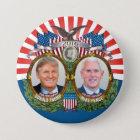 Donald- Trump u. Mike-Pennys Jugate Foto-rotes Runder Button 7,6 Cm