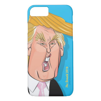 Donald- TrumpCartoon iPhone 7 /6s-Fall iPhone 8/7 Hülle