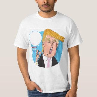 Donald- TrumpCartoon-T-Shirt - Sie schreiben Titel T-Shirt