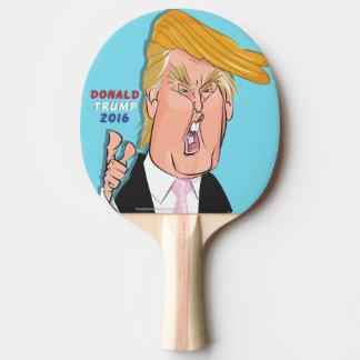 Donald- TrumpCartoonPing Pong Paddel Tischtennis Schläger