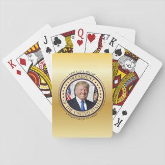 DONALD- TRUMPkommandant - HEREIN - HAUPTgold Spielkarten