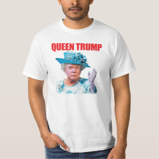 Donald- Trumpkönigin-Trumpf-T - Shirt