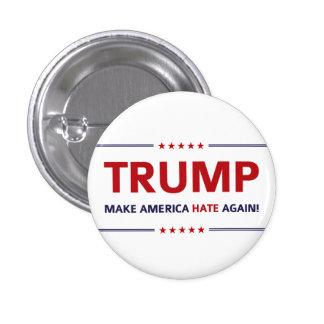 Donald- TrumpParodie Runder Button 2,5 Cm