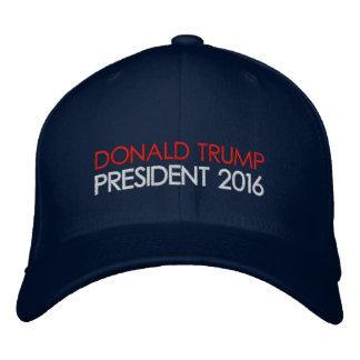 Donald- Trumppräsident 2016 Bestickte Baseballkappe