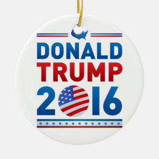 DONALD TRUMPPräsidentschaftswahl 2016 Keramik Ornament