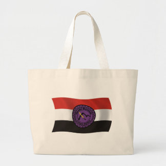 Donner-BergLenape Nations-Flaggen-Taschen-Tasche Jumbo Stoffbeutel
