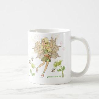 Doolie der Blumen-Hügel Kaffeetasse