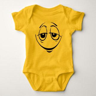 Dopey mit Augen Emoticon-Baby-Kostüm Baby Strampler