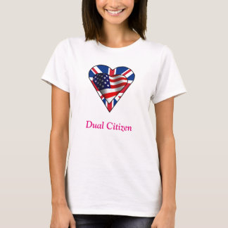 Doppelbürger UK-US T-Shirt