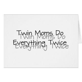 Lustige zwillinge gru karten einladungen for Originelle geschenke fa r zwillinge