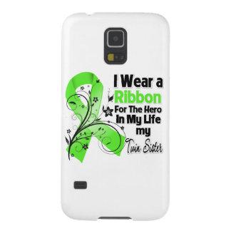 Doppelschwester-Held in meinem Leben-Lymphom-Band Samsung S5 Hüllen