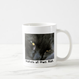 Doppelseitige schlechte Katze Kaffeetasse