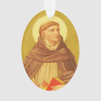 Doppelseitiges Acryl St Dominic (P.M. 02) Ornament