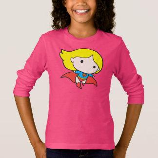Doppelseitiges Chibi Supergirl T-Shirt