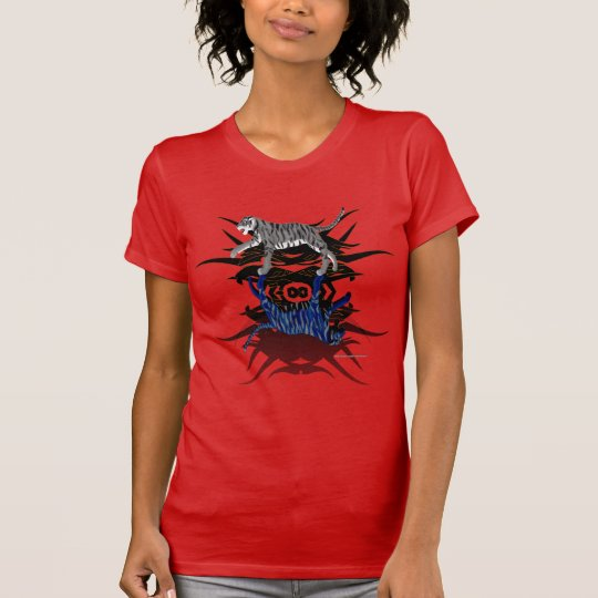 DoppelT - Shirt der tiger-Damen-Jersey