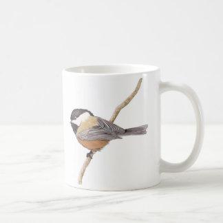 Doppelte Chickadee-Tasse Kaffeetasse