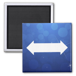 Doppelte Mit Seiten versehen-Pfeile minimal Quadratischer Magnet