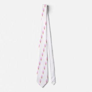 Doppelte Schaufel-Eistüte - Rosa Individuelle Krawatte