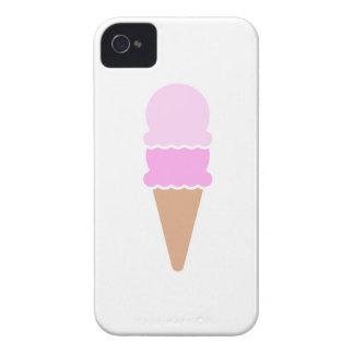 Doppelte Schaufel-Eistüte - Rosa iPhone 4 Case-Mate Hülle