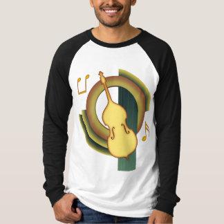 Doppelter Bass-Deko T-Shirt