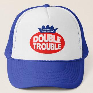 Doppelter Problem-Hut Truckerkappe