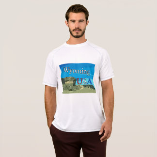 Doppelter trockener Maschen-T - Shirt Wyomings