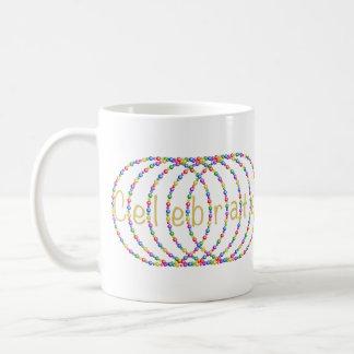 Doppeltes feiern Licht-Entwurf Kaffeetasse