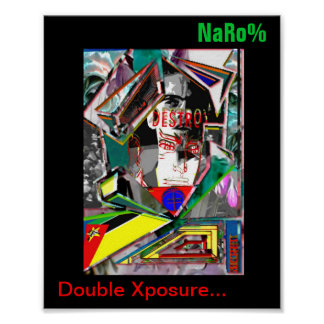 Doppeltes Xposure Poster