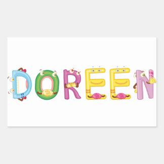Doreen Aufkleber