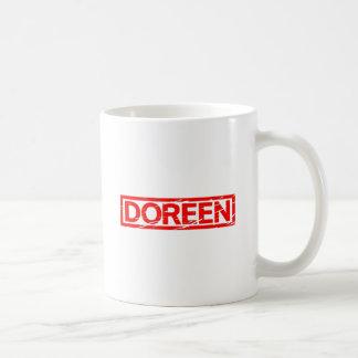 Doreen Briefmarke Kaffeetasse