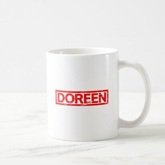 Doreen Briefmarke Tasse