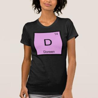 Doreen Namenschemie-Element-Periodensystem T-Shirt