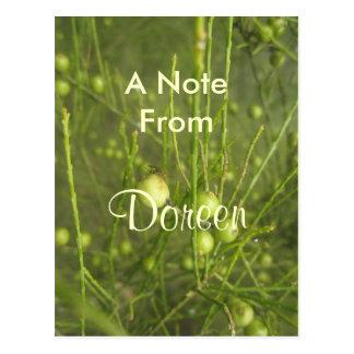 Doreen Postkarte