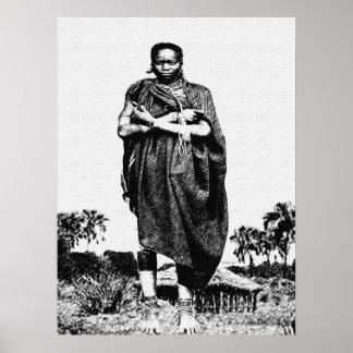 Dorf-Mutter Poster