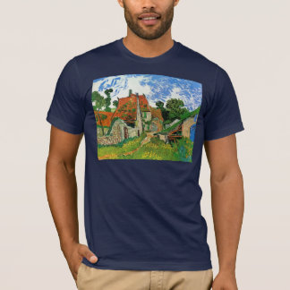 Dorf-Straße in Auvers durch Vincent van Gogh T-Shirt