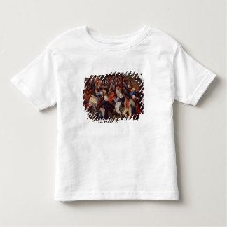 Dorf-Tanz (Öl auf Platte) Kleinkinder T-shirt