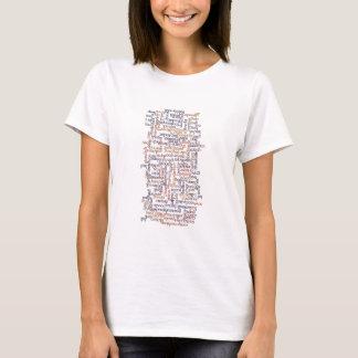 Doric Wort-Karte T-Shirt