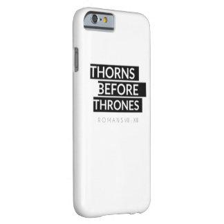 Dornen vor Thron-Kasten Barely There iPhone 6 Hülle