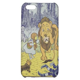 Dorothy et le lion lâche de magicien d'Oz Coques Pour iPhone 5C