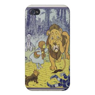 Dorothy et le lion lâche de magicien d'Oz Étui iPhone 4/4S