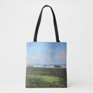 Dorr Mountain View der großen Wiese Tasche