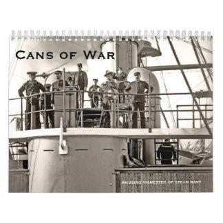 Dosen von Krieg 3 Abreißkalender